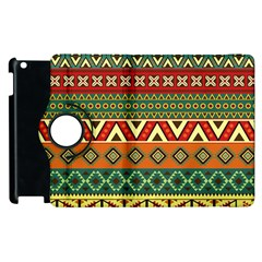 Mexican Folk Art Patterns Apple Ipad 3/4 Flip 360 Case by Amaryn4rt