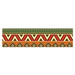 Mexican Folk Art Patterns Satin Scarf (Oblong) Front