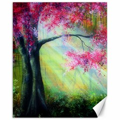 Forests Stunning Glimmer Paintings Sunlight Blooms Plants Love Seasons Traditional Art Flowers Sunsh Canvas 16  X 20   by Amaryn4rt