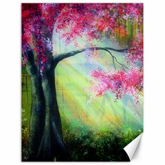 Forests Stunning Glimmer Paintings Sunlight Blooms Plants Love Seasons Traditional Art Flowers Sunsh Canvas 18  X 24   by Amaryn4rt