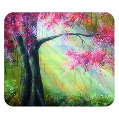 Forests Stunning Glimmer Paintings Sunlight Blooms Plants Love Seasons Traditional Art Flowers Sunsh Double Sided Flano Blanket (small)  by Amaryn4rt