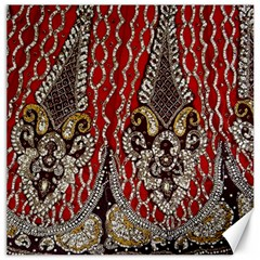 Indian Traditional Art Pattern Canvas 16  X 16   by Amaryn4rt