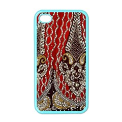 Indian Traditional Art Pattern Apple Iphone 4 Case (color) by Amaryn4rt