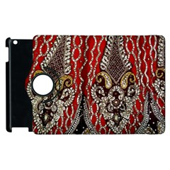 Indian Traditional Art Pattern Apple Ipad 3/4 Flip 360 Case by Amaryn4rt