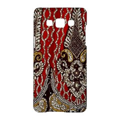 Indian Traditional Art Pattern Samsung Galaxy A5 Hardshell Case  by Amaryn4rt