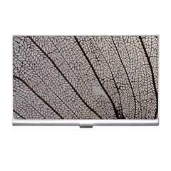 Sea Fan Coral Intricate Patterns Business Card Holders