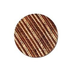 Udan Liris Batik Pattern Magnet 3  (round) by Amaryn4rt