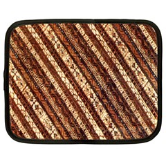Udan Liris Batik Pattern Netbook Case (xxl)  by Amaryn4rt