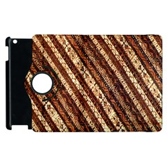 Udan Liris Batik Pattern Apple Ipad 2 Flip 360 Case by Amaryn4rt