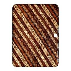 Udan Liris Batik Pattern Samsung Galaxy Tab 4 (10 1 ) Hardshell Case  by Amaryn4rt