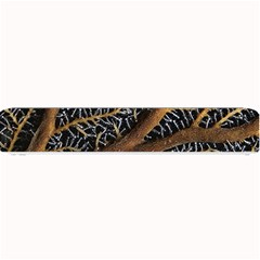 Trees Forests Pattern Small Bar Mats by Amaryn4rt