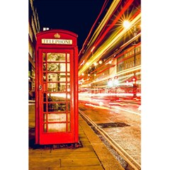 Telephone Box London Night 5 5  X 8 5  Notebooks