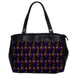 Seamless Prismatic Line Art Pattern Office Handbags Front