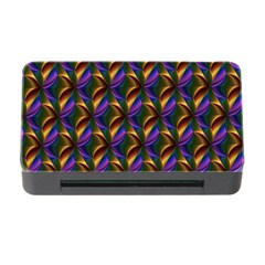 Seamless Prismatic Line Art Pattern Memory Card Reader With Cf by Amaryn4rt
