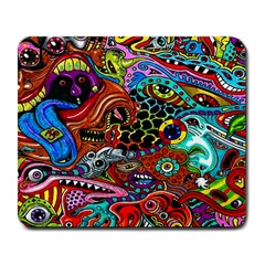 Vector Art Pattern Large Mousepads by Amaryn4rt