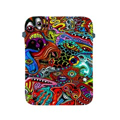 Vector Art Pattern Apple Ipad 2/3/4 Protective Soft Cases by Amaryn4rt
