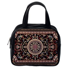Vectorized Traditional Rug Style Of Traditional Patterns Classic Handbags (one Side) by Amaryn4rt