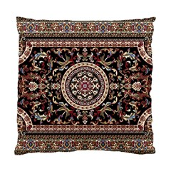 Vectorized Traditional Rug Style Of Traditional Patterns Standard Cushion Case (two Sides) by Amaryn4rt