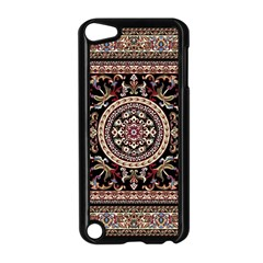 Vectorized Traditional Rug Style Of Traditional Patterns Apple Ipod Touch 5 Case (black) by Amaryn4rt