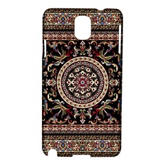Vectorized Traditional Rug Style Of Traditional Patterns Samsung Galaxy Note 3 N9005 Hardshell Case by Amaryn4rt