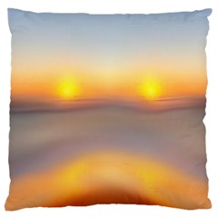 Headlights Large Cushion Case (two Sides) by CannyMittsDesigns
