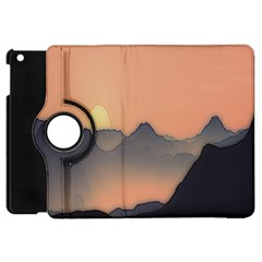 Mountains Apple iPad Mini Flip 360 Case by CannyMittsDesigns