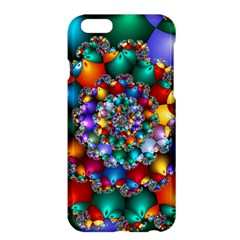 Rainbow Spiral Beads Apple Iphone 6 Plus/6s Plus Hardshell Case by WolfepawFractals