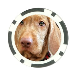 Vizsla second Poker Chip Card Guard by TailWags