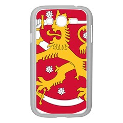 Coat of Arms of Finland Samsung Galaxy Grand DUOS I9082 Case (White) by abbeyz71