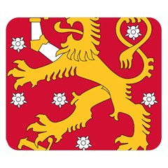 Coat Of Arms Of Finland Double Sided Flano Blanket (small)  by abbeyz71