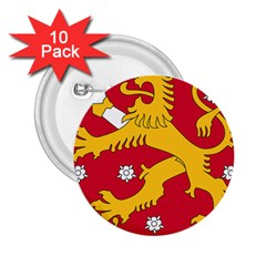 Coat of Arms of Finland 2.25  Buttons (10 pack)  by abbeyz71