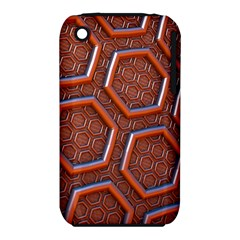 3d Abstract Patterns Hexagons Honeycomb Iphone 3s/3gs by Amaryn4rt