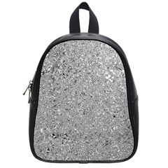 Abstract Flowing And Moving Liquid Metal School Bags (small)