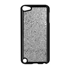 Abstract Flowing And Moving Liquid Metal Apple Ipod Touch 5 Case (black) by Amaryn4rt