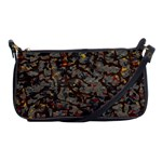 A Complex Maze Generated Pattern Shoulder Clutch Bags Front