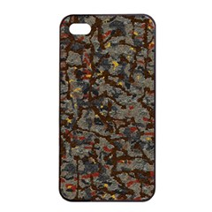 A Complex Maze Generated Pattern Apple Iphone 4/4s Seamless Case (black) by Amaryn4rt
