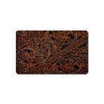Art Traditional Indonesian Batik Pattern Magnet (Name Card)