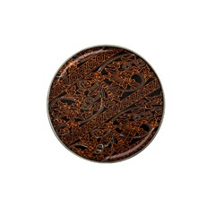 Art Traditional Indonesian Batik Pattern Hat Clip Ball Marker (4 Pack) by Amaryn4rt
