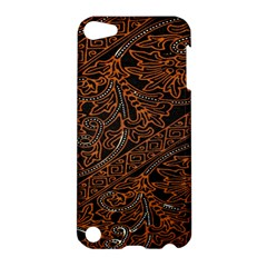 Art Traditional Indonesian Batik Pattern Apple Ipod Touch 5 Hardshell Case by Amaryn4rt