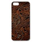 Art Traditional Indonesian Batik Pattern Apple Seamless iPhone 5 Case (Clear)