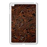 Art Traditional Indonesian Batik Pattern Apple iPad Mini Case (White) Front