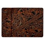 Art Traditional Indonesian Batik Pattern Samsung Galaxy Tab 10.1  P7500 Flip Case
