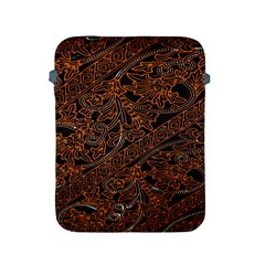 Art Traditional Indonesian Batik Pattern Apple Ipad 2/3/4 Protective Soft Cases by Amaryn4rt