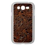 Art Traditional Indonesian Batik Pattern Samsung Galaxy Grand DUOS I9082 Case (White)