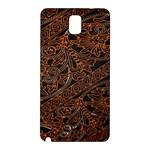 Art Traditional Indonesian Batik Pattern Samsung Galaxy Note 3 N9005 Hardshell Back Case