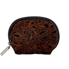 Art Traditional Indonesian Batik Pattern Accessory Pouches (Small)