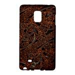 Art Traditional Indonesian Batik Pattern Galaxy Note Edge