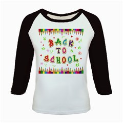 Back To School Kids Baseball Jerseys by Amaryn4rt
