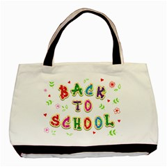 Back To School Basic Tote Bag by Amaryn4rt