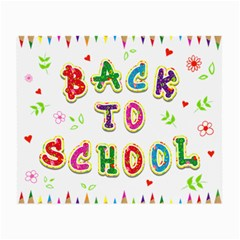 Back To School Small Glasses Cloth (2 Side)